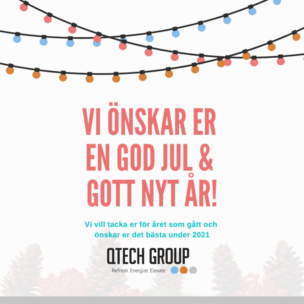 Gott nytt år önskar Qtech